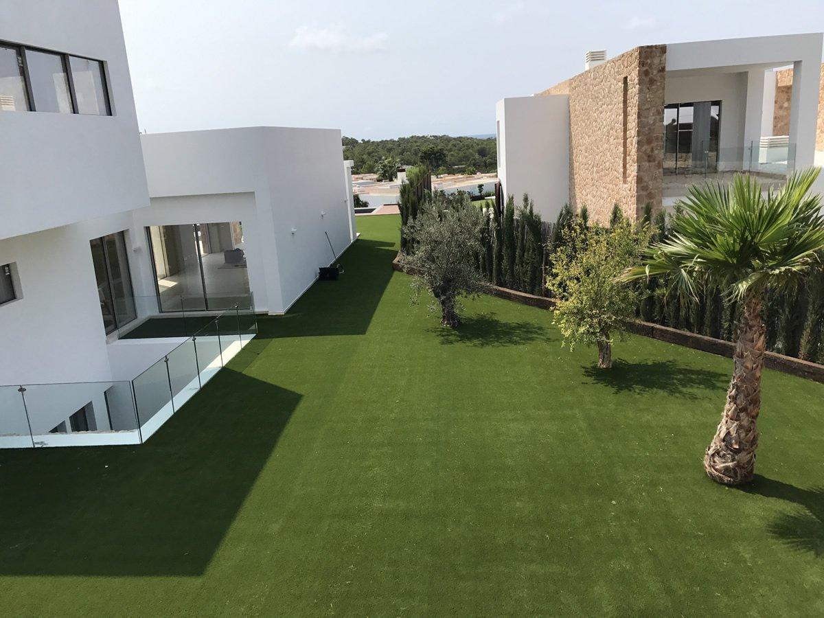C sped artificial en ibiza con royal grass y averdece - Cesped artificial ibiza ...